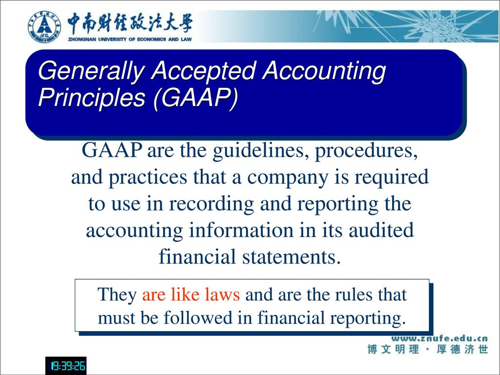 general accepted accounting principles related to health care Generally accepted accounting principles health care organizations and other financial institutions prepare and present information about their businesses using generally accepted accounting principles (gaap) gaap helps organizations list assets, income, expense, and liabilities on their respective financial statements by.