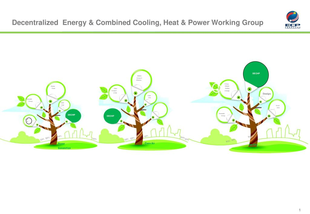 Decentralized Energy & Combined Cooling, Heat & Power Working Group