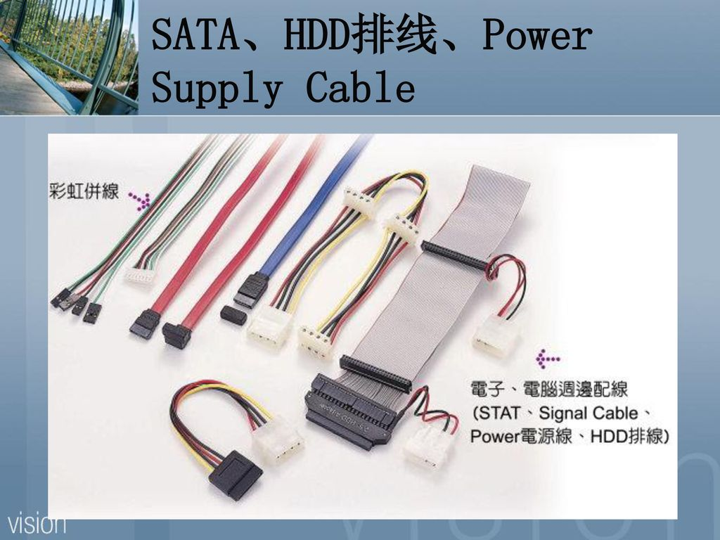 SATA、HDD排线、Power Supply Cable