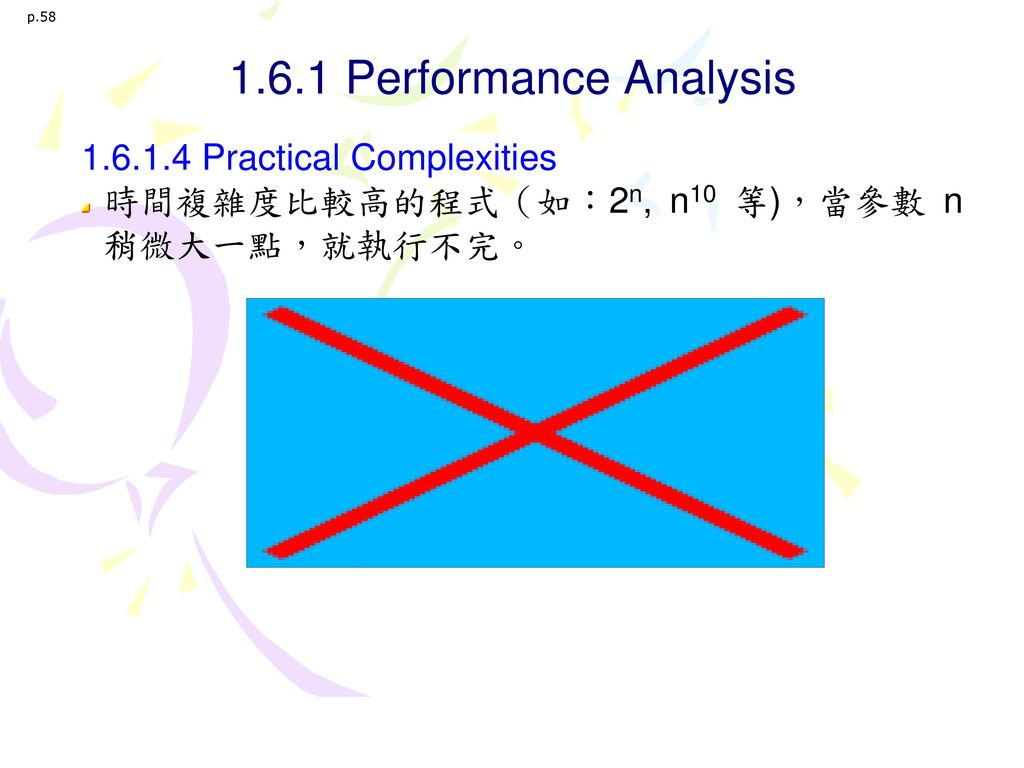 1.6.1 Performance Analysis 1.6.1.4 Practical Complexities