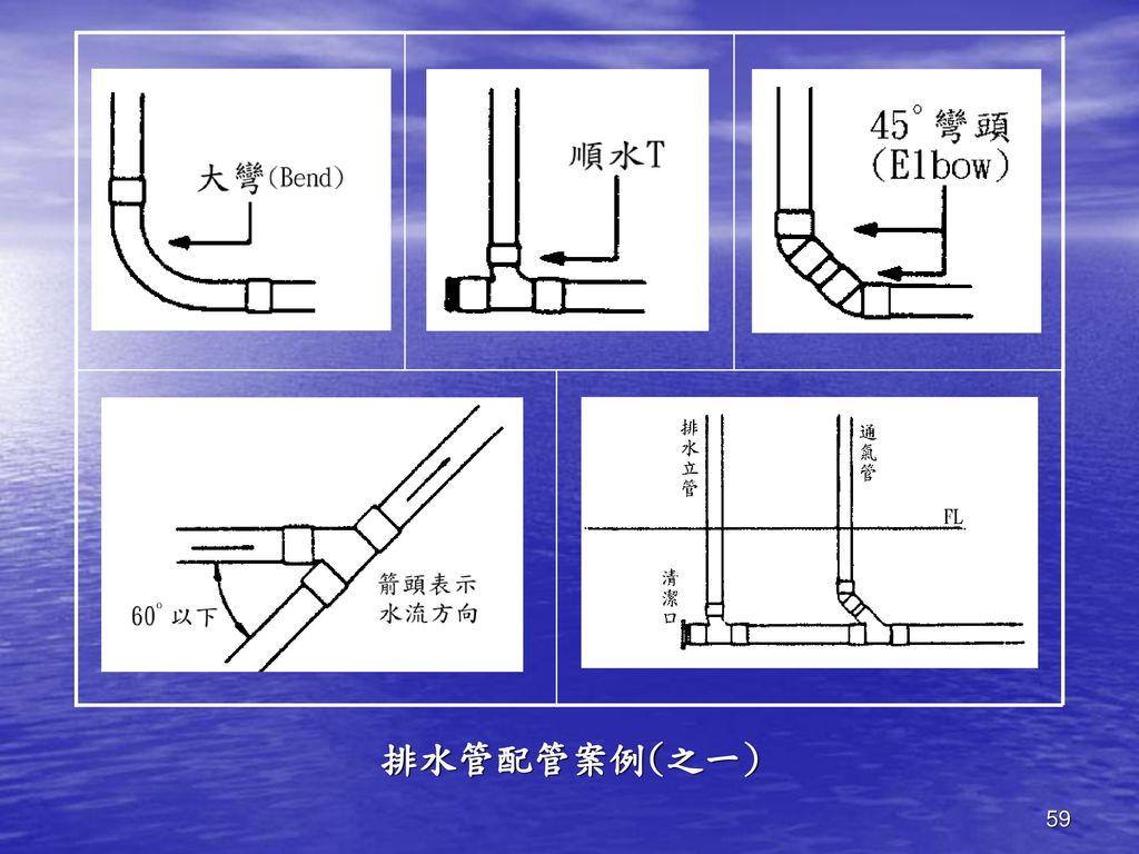 排水管配管案例(之一)