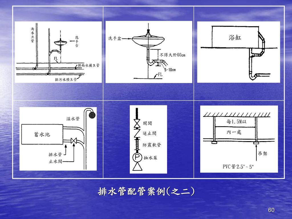 排水管配管案例(之二)