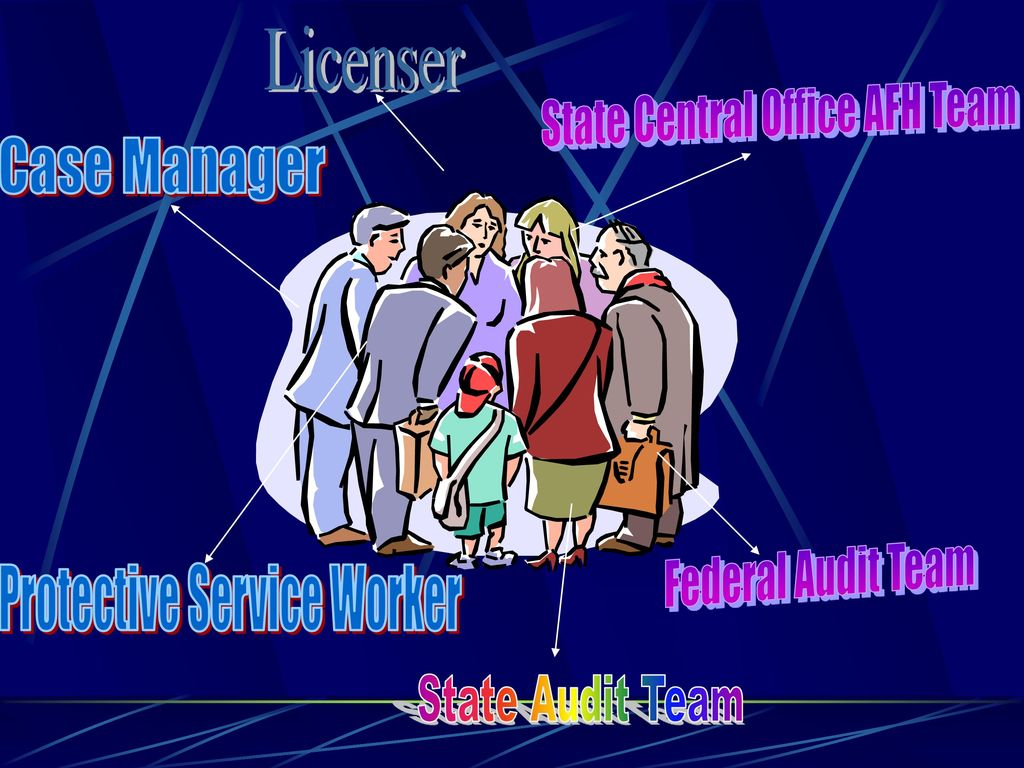 Licenser Case Manager Protective Service Worker
