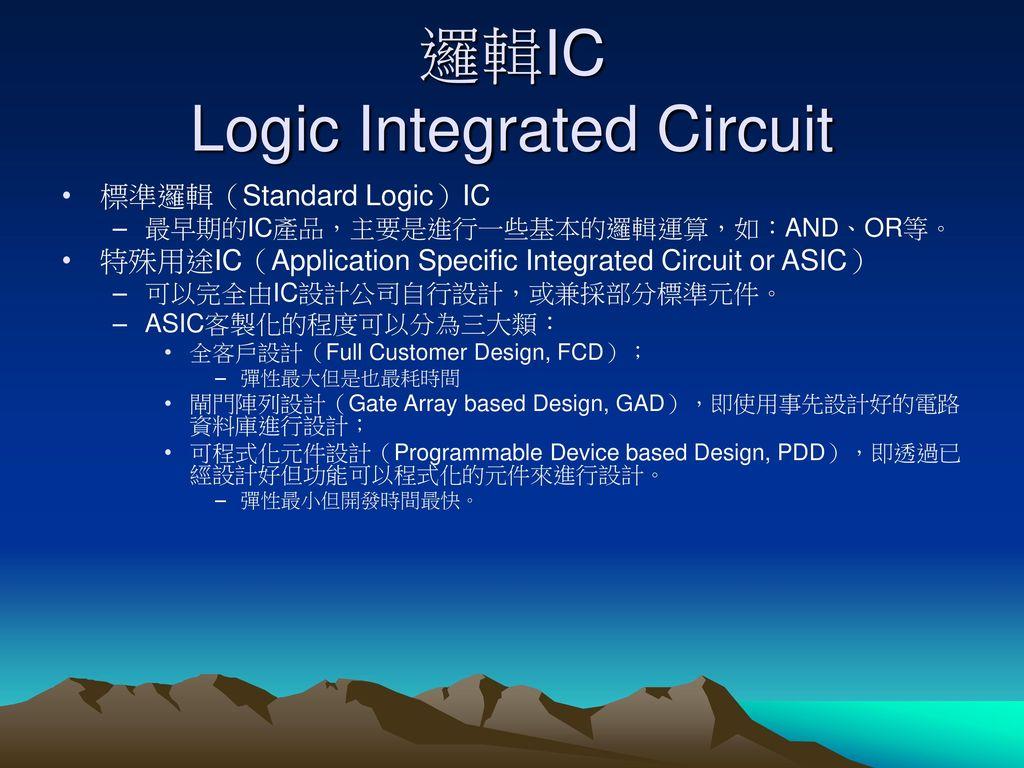 記憶體IC Memory Integrated Circuit