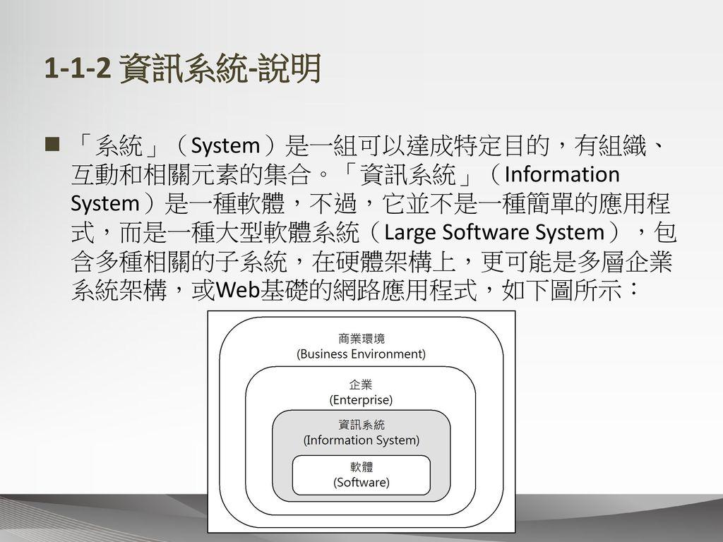 1-1-2 資訊系統-說明