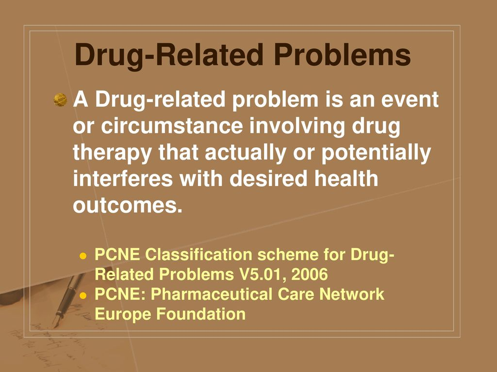 Drug-Related Problems