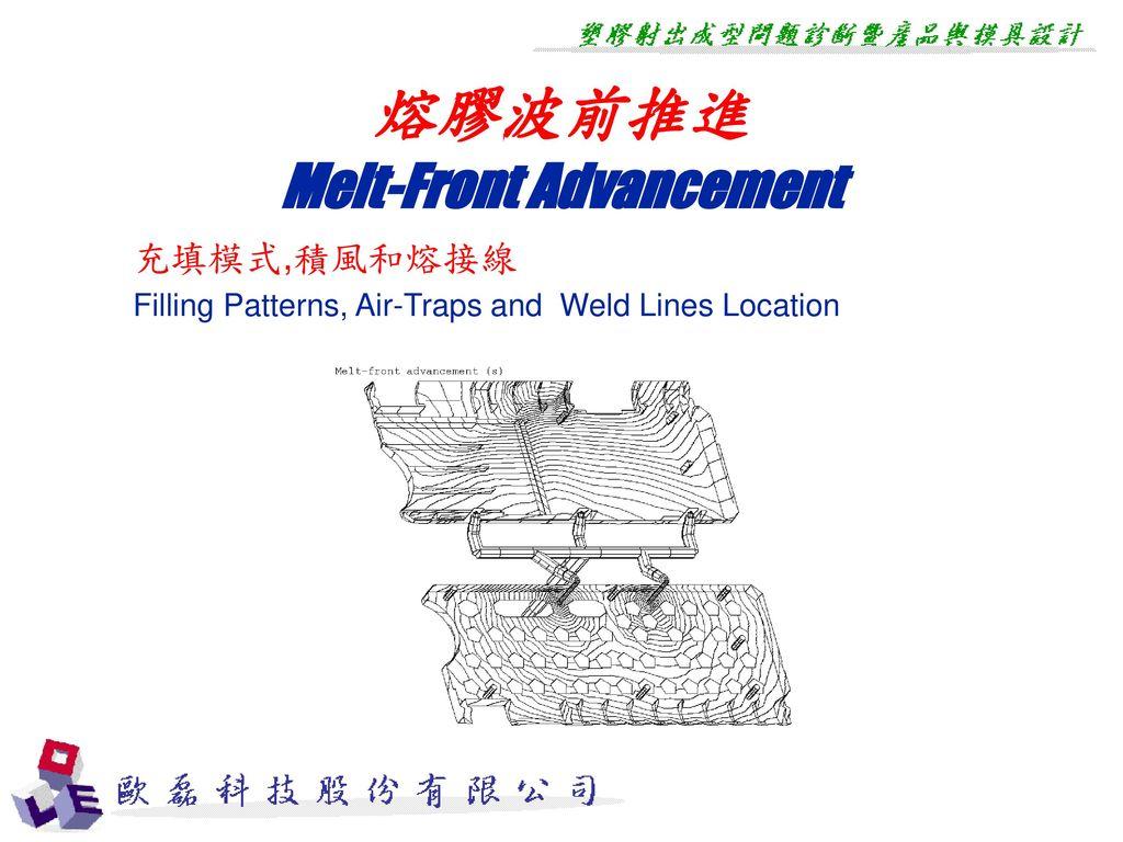 Melt-Front Advancement
