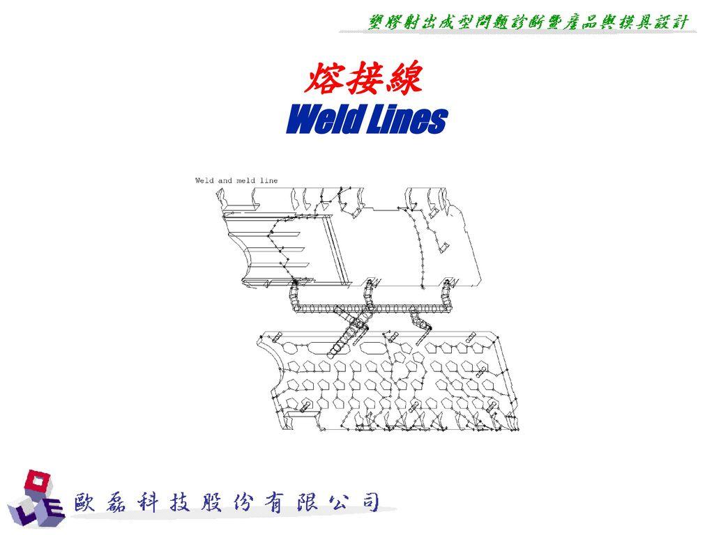 熔接線 Weld Lines