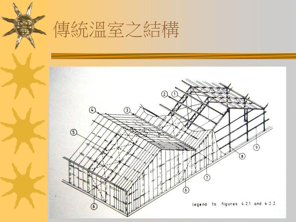 傳統溫室之結構