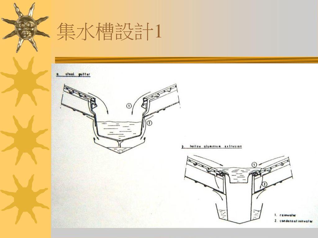 集水槽設計1