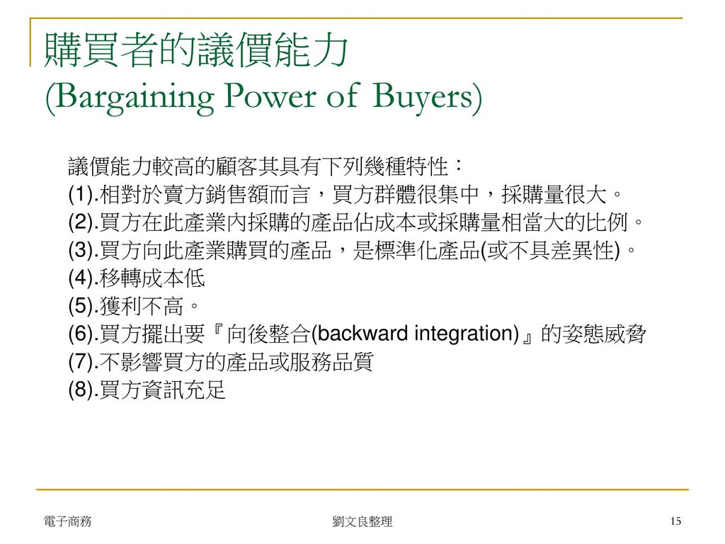 bargaining power of buyers pdf