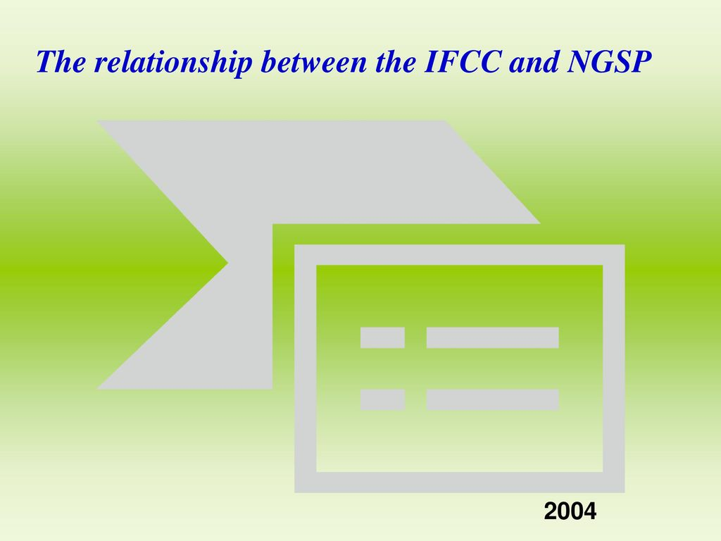 The relationship between the IFCC and NGSP