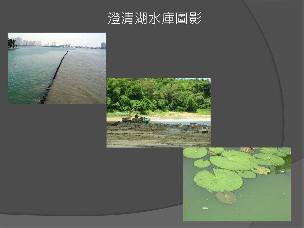 澄清湖水庫圖影