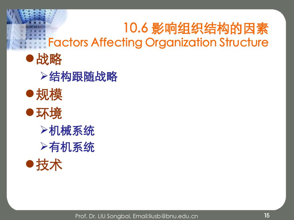factors affecting organizational structure Understand 7 factors that affect project management approach in your organization get to know how those factors affect from one form of organization to the other and how the project.