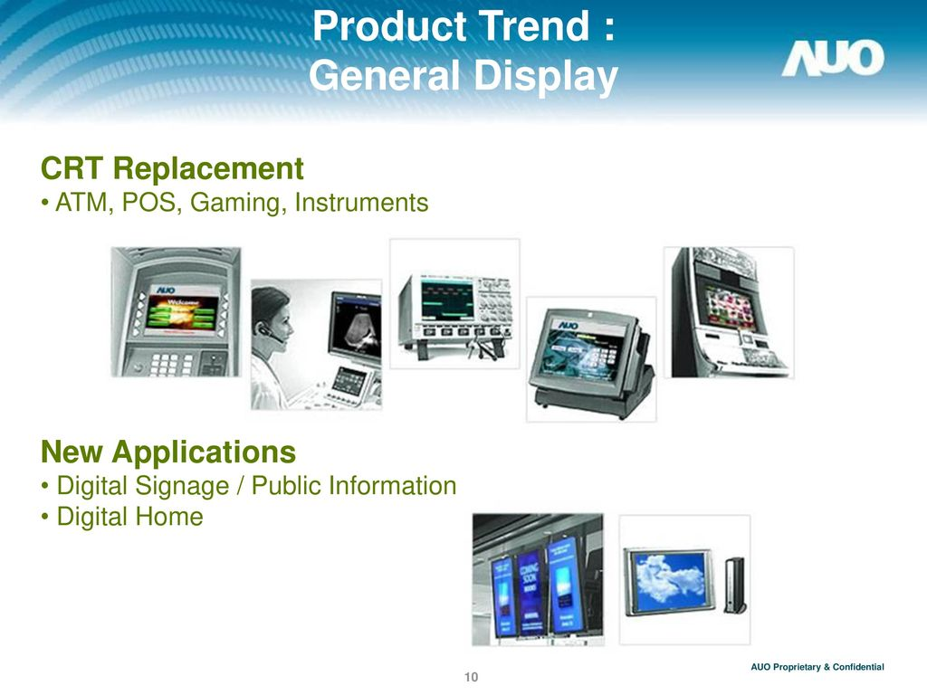 Product Trend : General Display