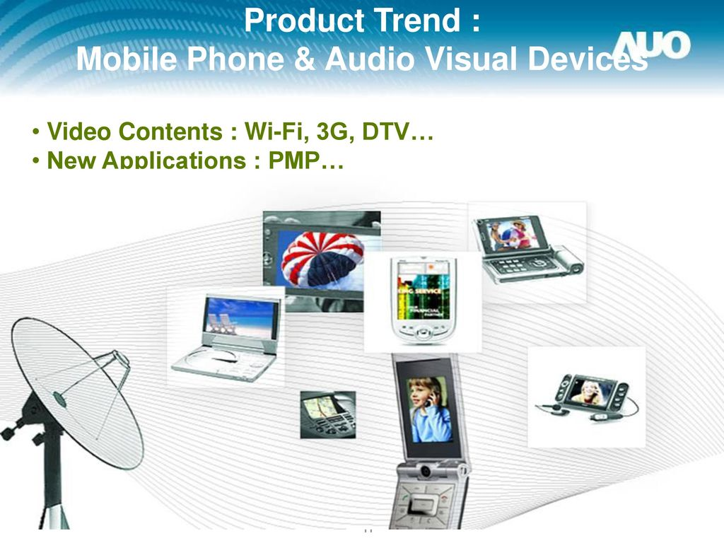 Product Trend : Mobile Phone & Audio Visual Devices
