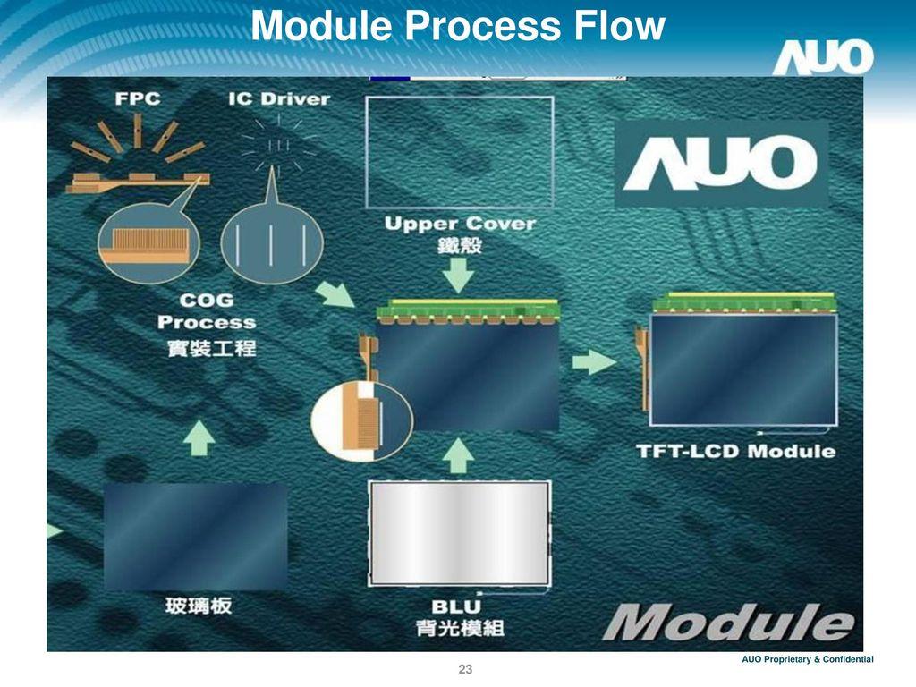 Module Process Flow