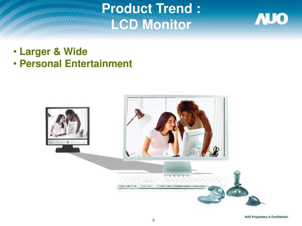 Product Trend : LCD Monitor