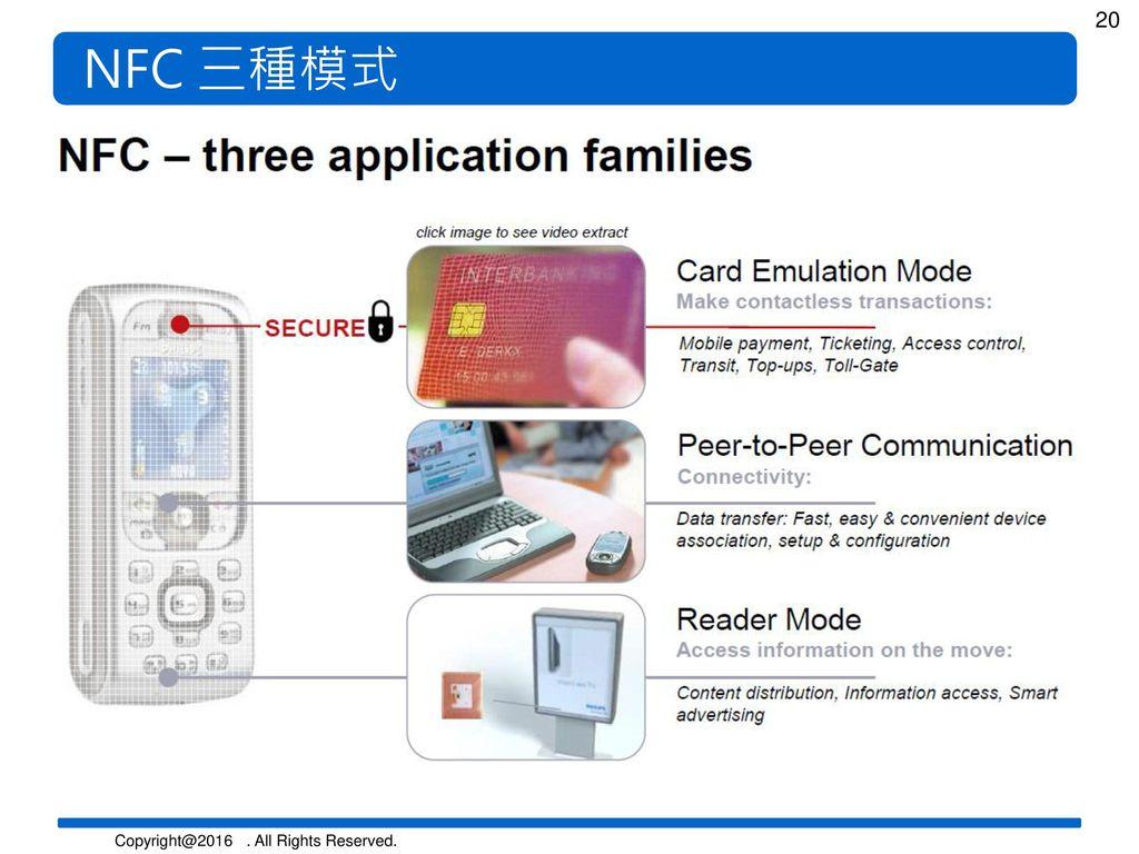 NFC 三種模式