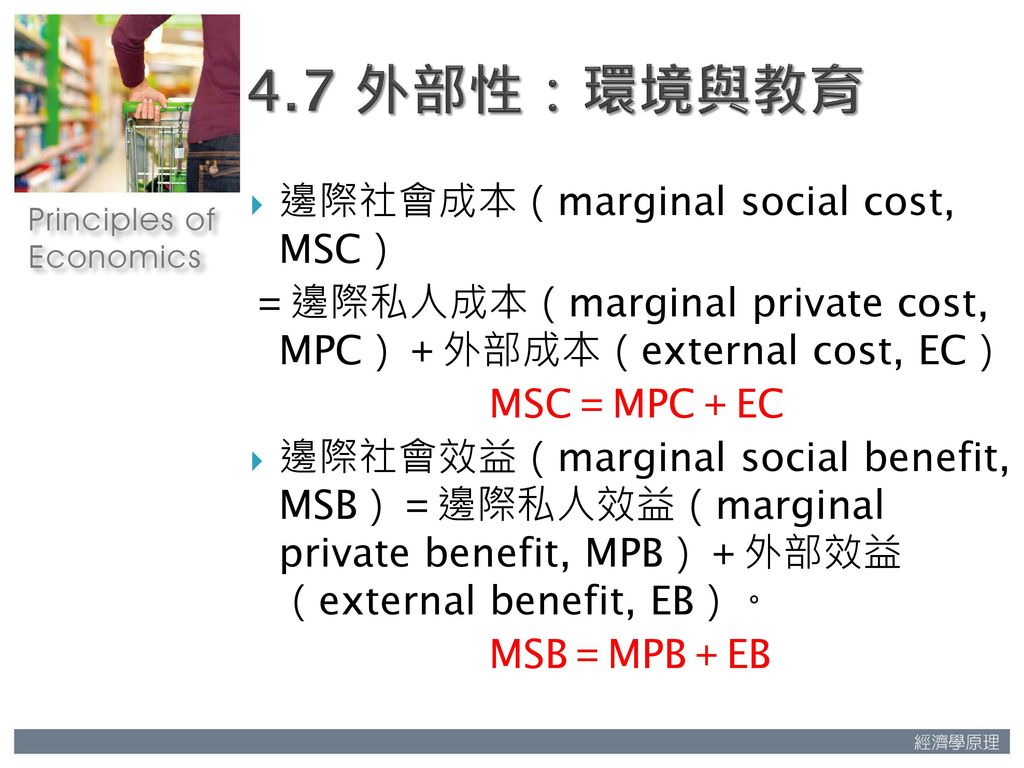 marginal social costs essay The externalities involved with market failure  pollution can cause the marginal social cost  of this essay and no longer wish to have the.