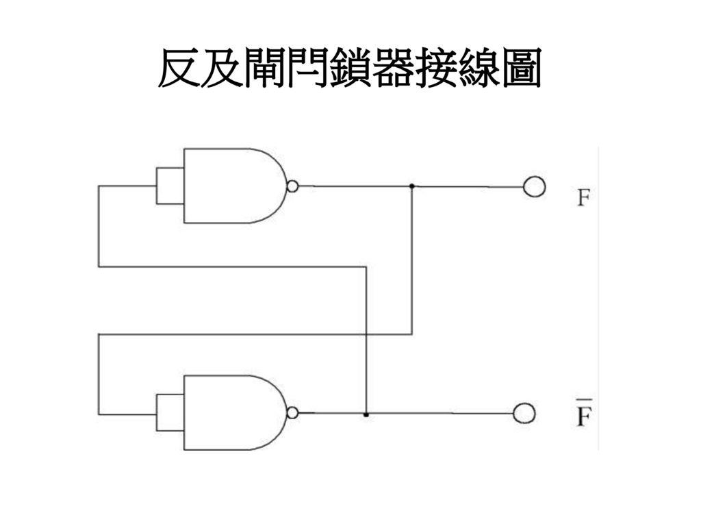反及閘閂鎖器接線圖