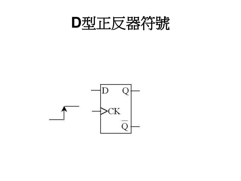 D型正反器符號