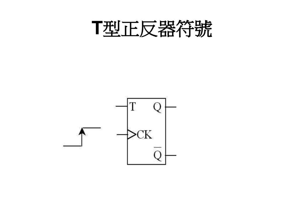 T型正反器符號