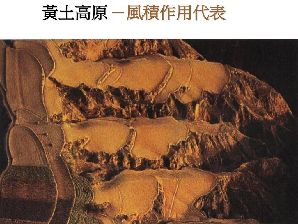 黃土高原 -風積作用代表