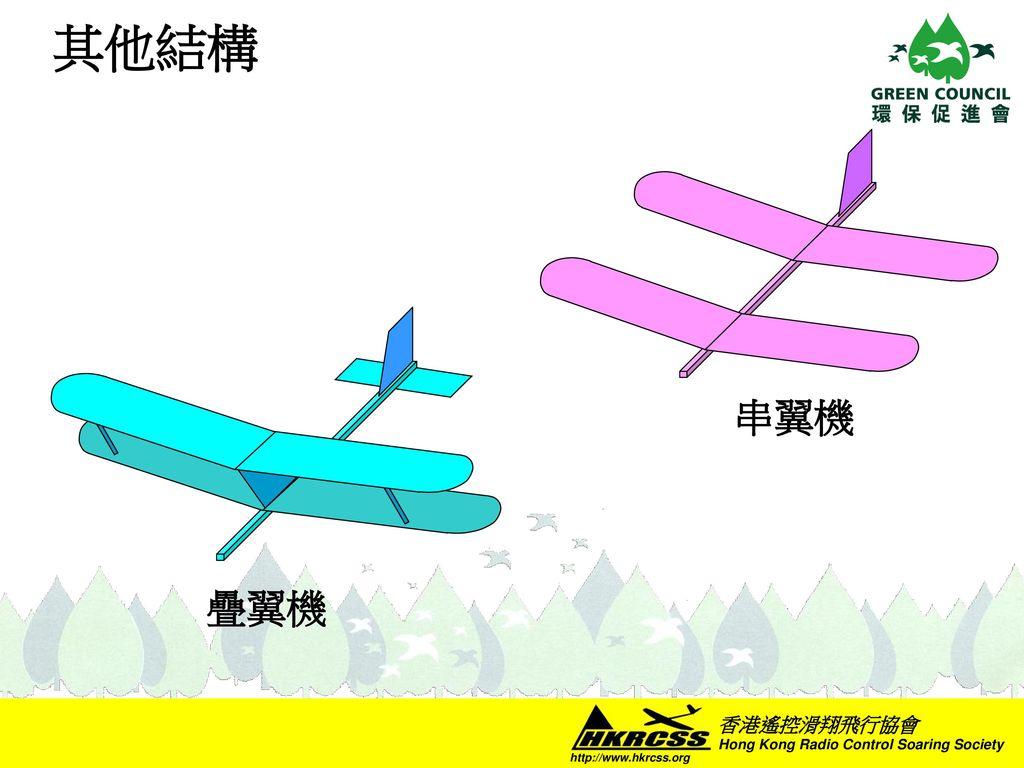 其他結構 串翼機 疊翼機