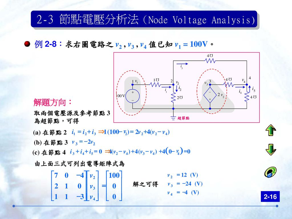 mesh current and node voltage analysis pdf
