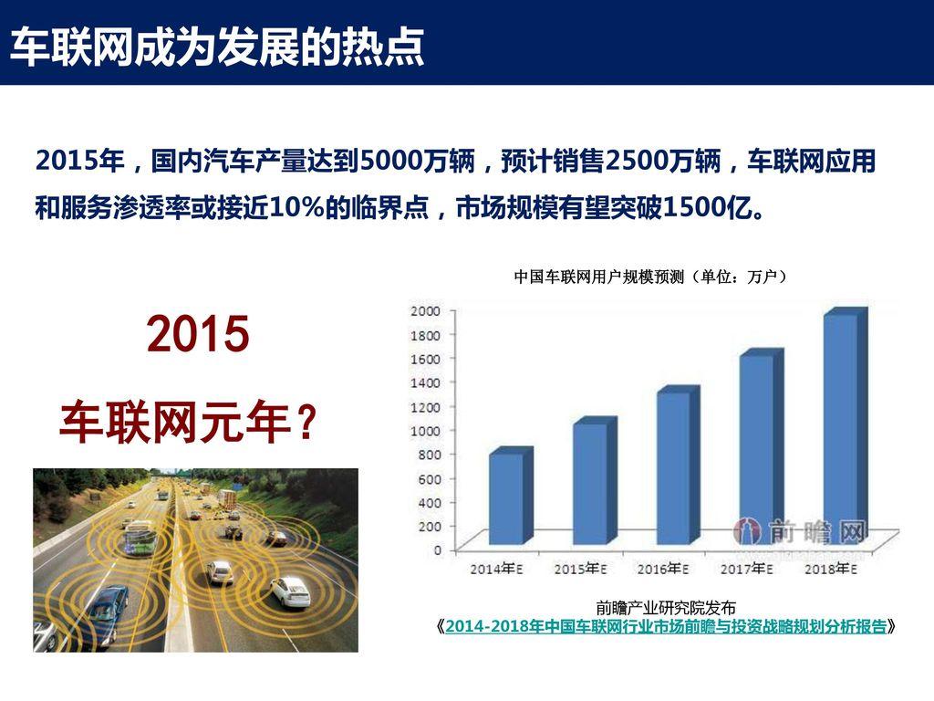 《2014-2018年中国车联网行业市场前瞻与投资战略规划分析报告》