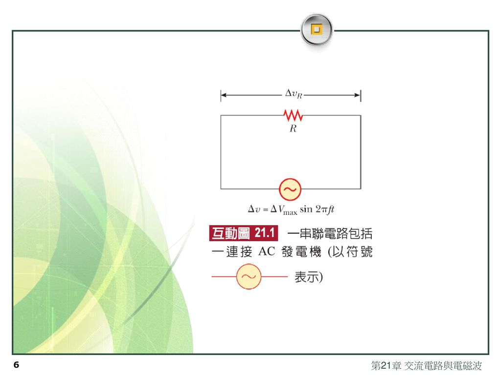 第21章 交流電路與電磁波
