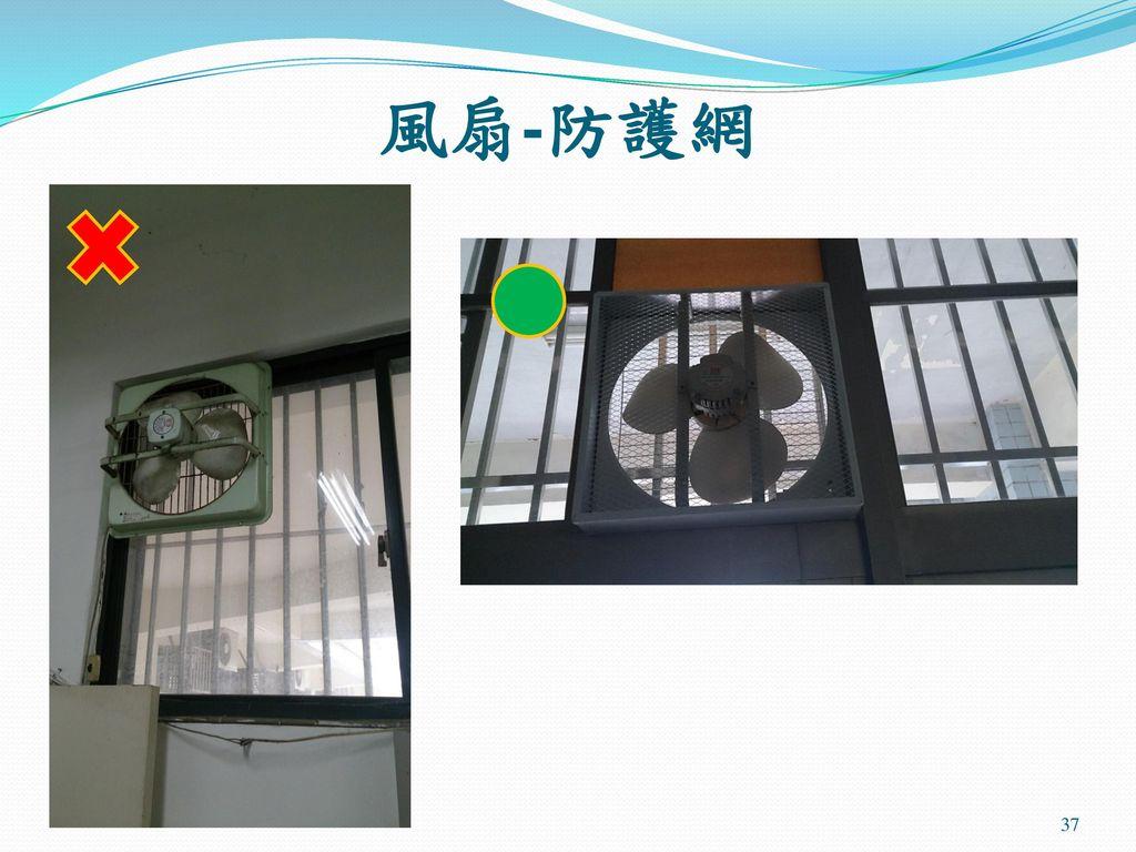風扇-防護網