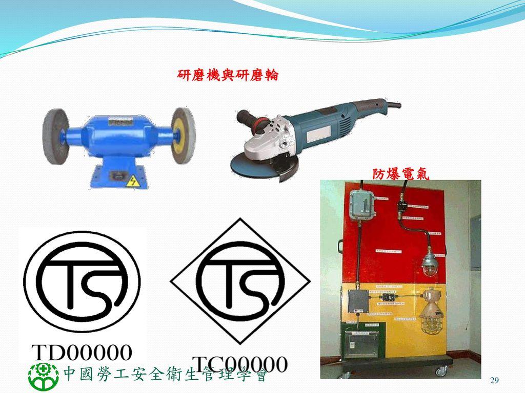 研磨機與研磨輪 防爆電氣