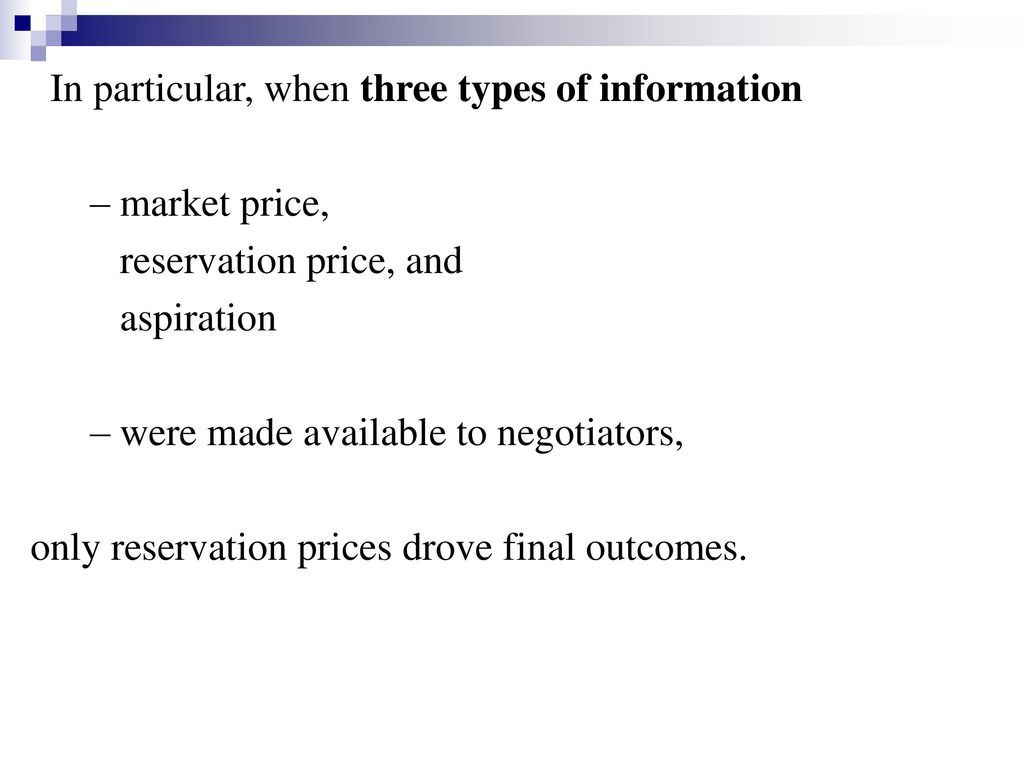 In particular, when three types of information