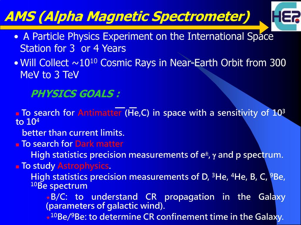 Soup Kitchens In Long Island Ams 02 In The News Alpha Magnetic Spectrometer 自我期許 勇於實現