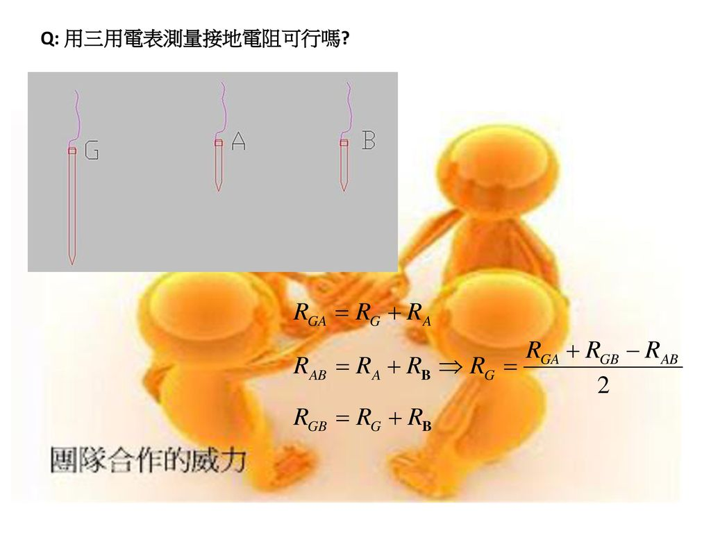 Q: 用三用電表測量接地電阻可行嗎