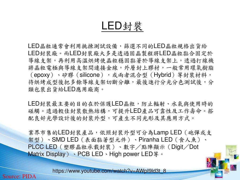 LED封裝