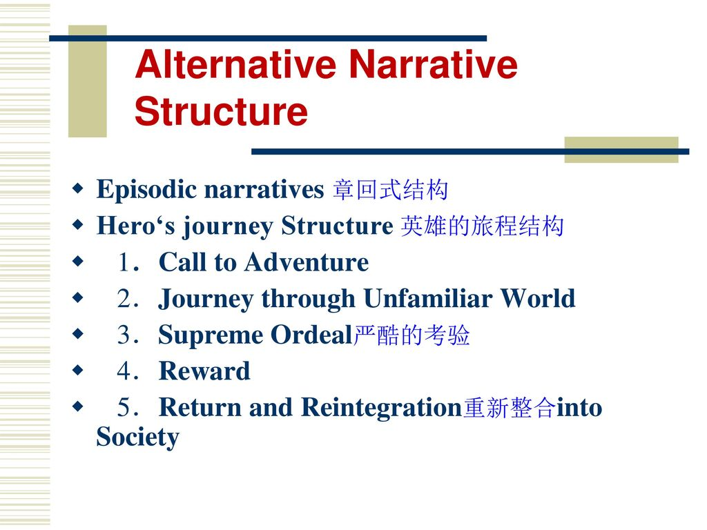 alternate narrative systems counter cinema