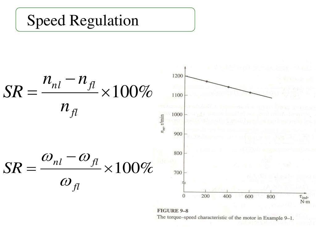 Speed Regulation