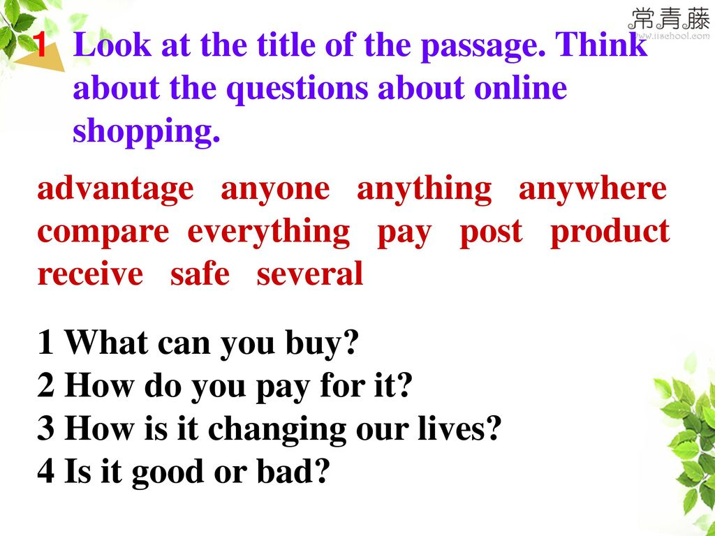 3 How is it changing our lives 4 Is it good or bad