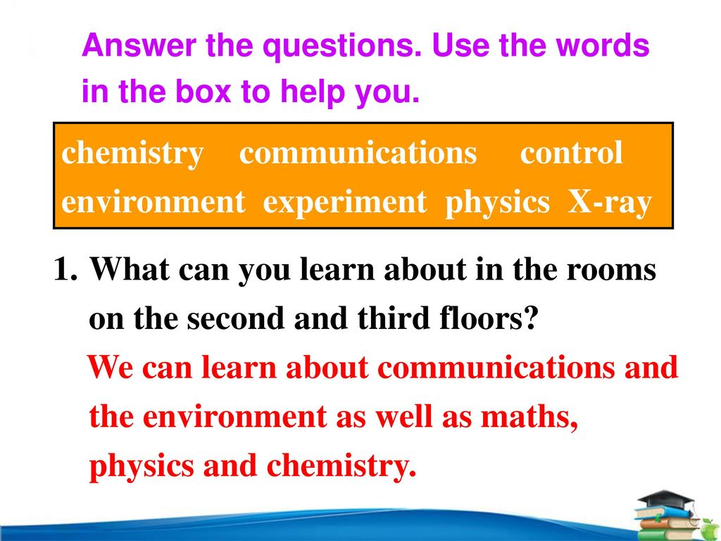 chemistry communications control environment experiment physics X-ray