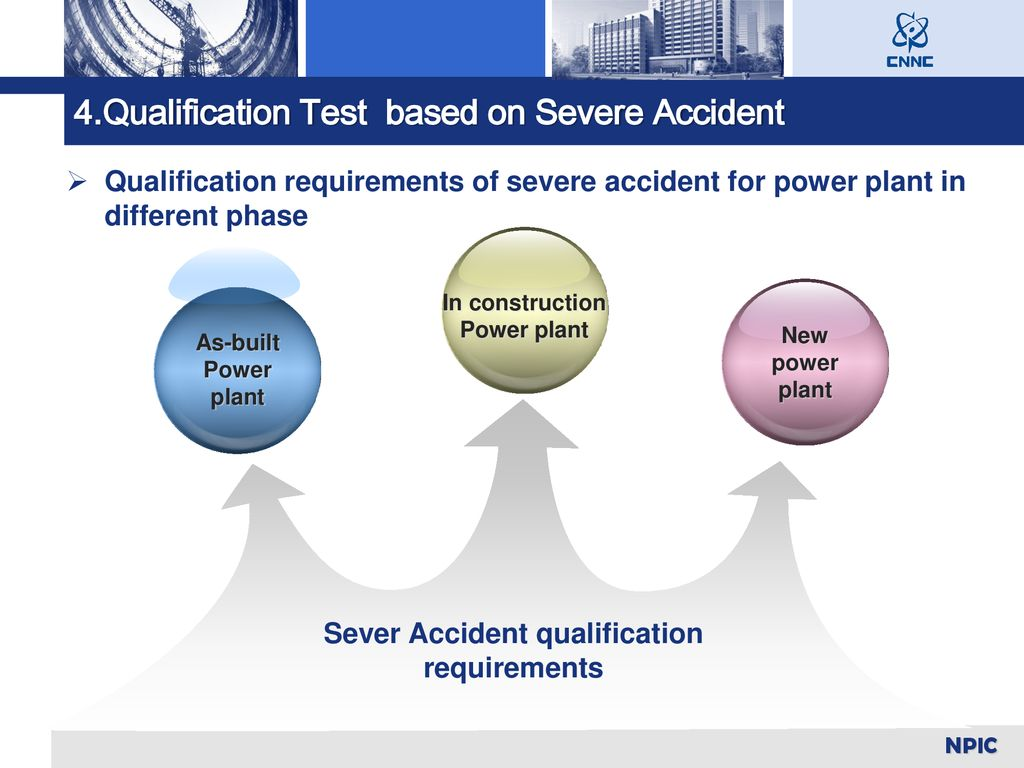 Sever Accident qualification requirements