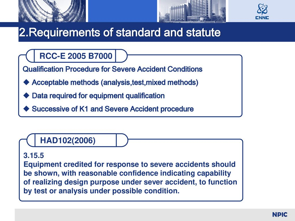 2.Requirements of standard and statute