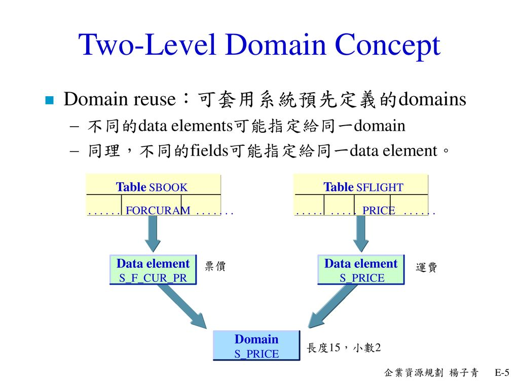 Two-Level Domain Concept