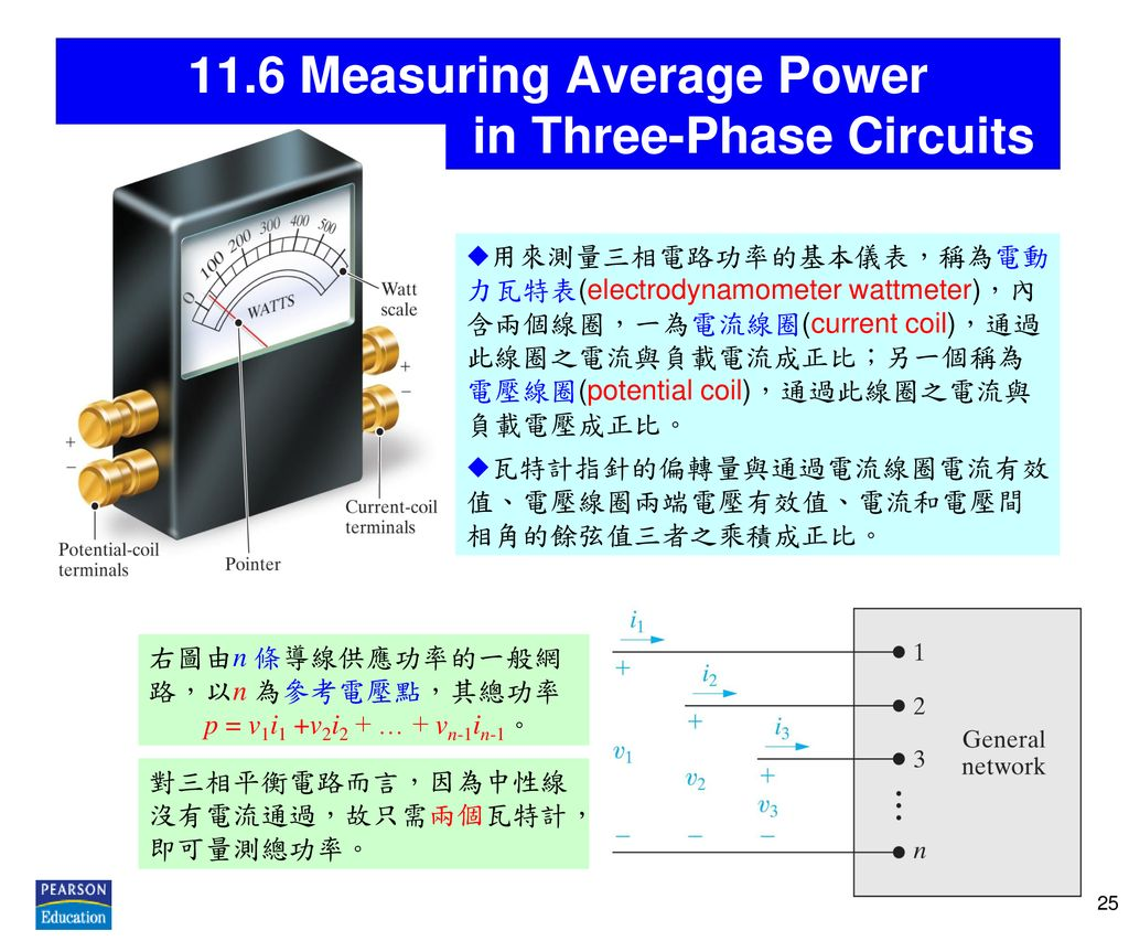 11.6 Measuring Average Power in Three-Phase Circuits