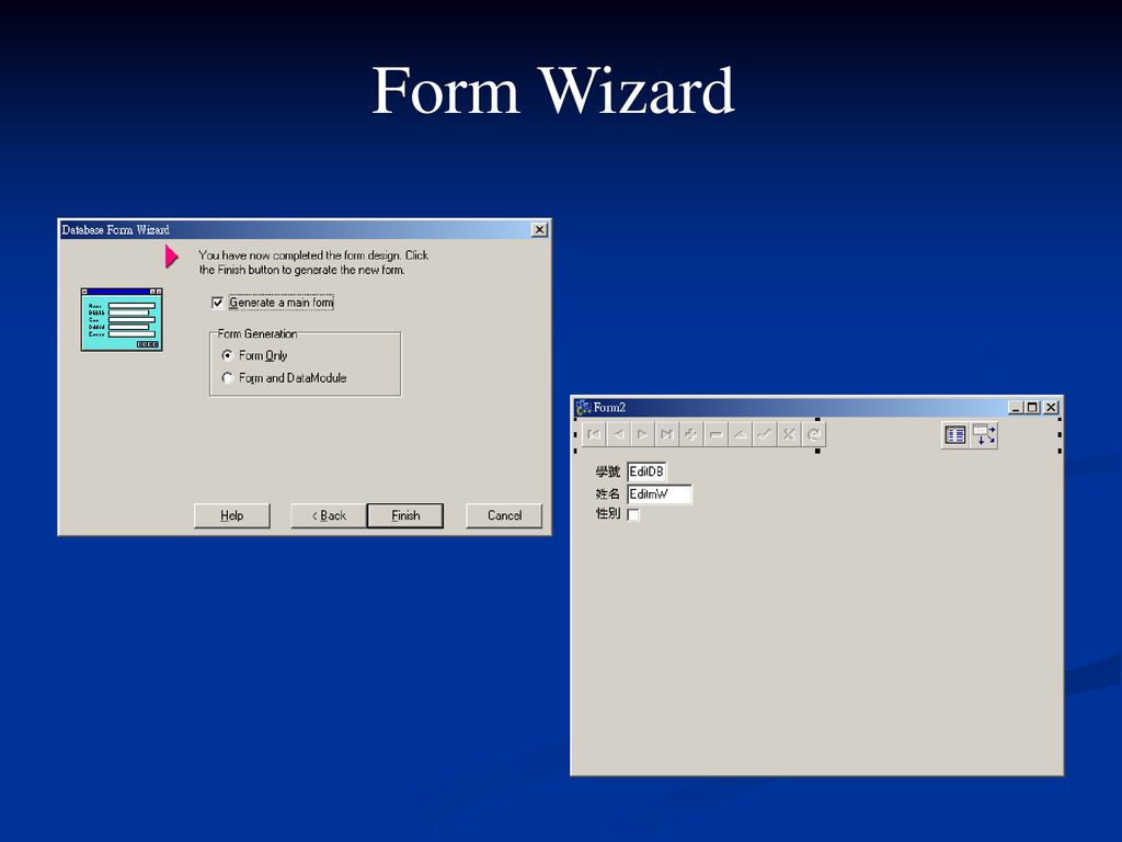 Form Wizard