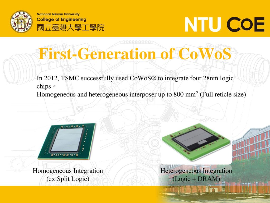 First-Generation of CoWoS