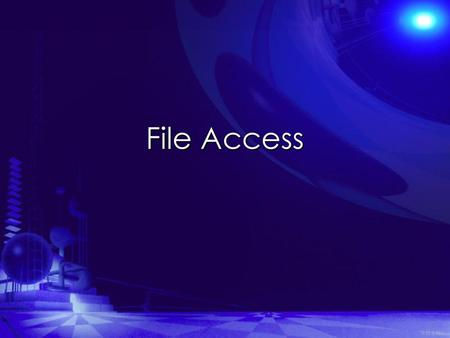 File Access 井民全製作.