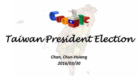 Taiwan President Election